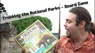 Trekking the National Parks - Board Game Review
