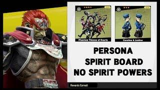 Super Smash Brothers Ultimate: Persona DLC Spirit Board - No Spirit power challenge.