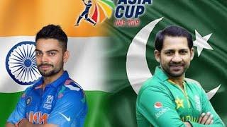 Pakistan vs India live cricket match score board and updates Asia cup 2018 pool A