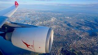Qantas Airbus A330-300  Economy Review - Sydney to Brisbane  (QF506)