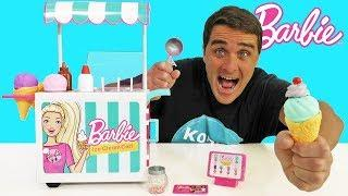 Barbie Ice Cream Cart Set ! || Toy Review || Konas2002
