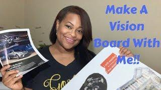 Make A Vision Board | Manifest Your Dreams