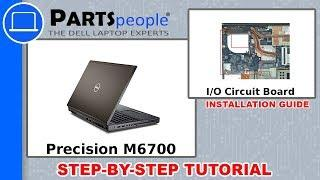 Dell Precision M6700 (P22F001) I/O Board How-To Video Tutorial