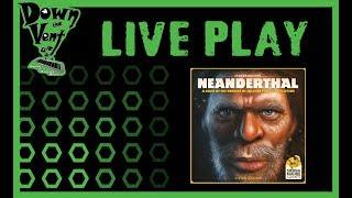 Neanderthal Board Game Live Play Through