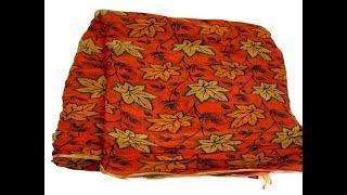 Cheap Rate Mysore Chiffon Floral Print Sarees    latest printed designer sarees collections