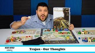 Trajan - Our Thoughts (Board Game)