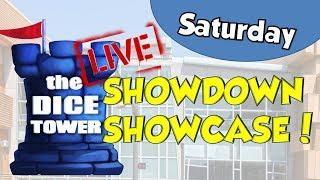 Dice Tower Live Origins 2018 SHOWCASE SHOWDOWN! - Saturday