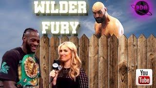 Wilder vs Fury borderline Cringe-Tour  --- Late Night Bodega Boxing Podcast