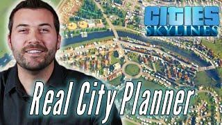 "A Professional City Planner Builds His Ideal City in ""Cities Skylines"""