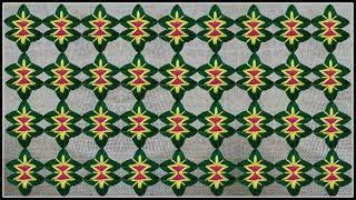 Hand Embroidery, Decorative border line embroidery design,Modern Hand Embroidery   Ason Design   DIY