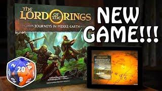 NEW Lord of the Rings Board Game: Journeys in Middle Earth