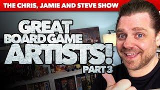 Great Board Game Artists - Part 3