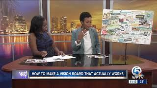 Achieve your dreams started with a vision board