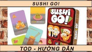 [Hướng dẫn Board game] Sushi Go!: Introduction & Playthrough - Giới thiệu và chơi thử Sushi Go!
