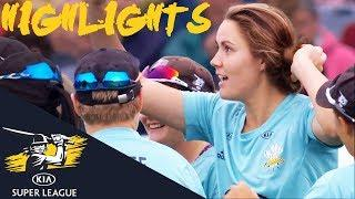 Dramatic Semi-Final Goes To Down To Final Over | Stars v Storm | Kia Super League 2018 - Highlights