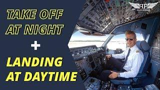 TAKE OFF AND LANDING | AIRLINE PILOT SHOWS THE BEAUTY OF FLYING