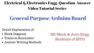 EEE (2015-Course)-General Purpose Arduino Board Video Tutorial