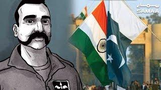 Indian Pilot Abhinandan Release Ceremony Wagha Border | SAMAA TV