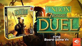 [Board Game VN] UNBOX 7 WONDER DUEL !