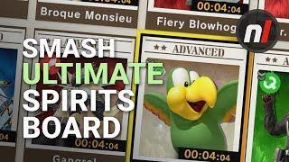Smash Ultimate: Spirits Board Gameplay