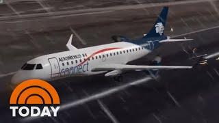Shocking Video Emerges From Mexico Plane Crash | TODAY