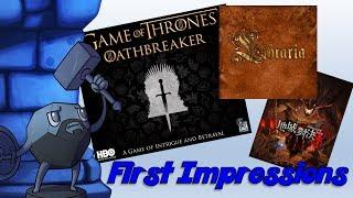 First Impressions with Sam Healey (Game of Thrones: Oathbreaker, Libraria, and Dungeon Duel)