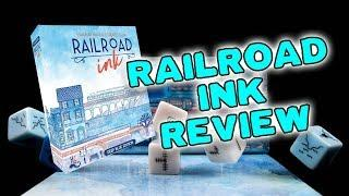Railroad Ink Board Game Review + How to Play | GLH5 Tabletop Gaming