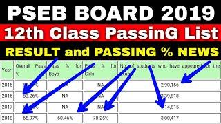 PSEB 2019 Result News [ Passing List ] | Punjab board 2019 result date 12th class | pseb 12th result