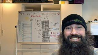 "Thursday 11:30am Live Stream - ""12-1"" Light Schedule Review - (White Board, get used to it)"