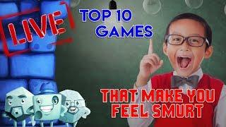Top 10 Games That Make You Feel Smurt