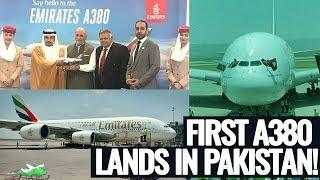 History Is Made: Emirates A380 Lands at Islamabad International Airport