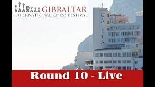 ???? Gibraltar Masters Round 10 | GM Simon Williams and and IM Jovanka Houska