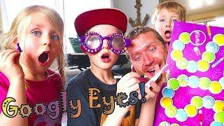 Googly Eyes Game! Best Family Board Games! / The Beach House