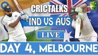 Live: IND Vs AUS 3rd Test | Day 4 | Live Scores & Commentary | 2018 Series