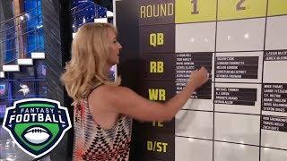 NFL Live 2018 fantasy mock draft (first round) | Fantasy Football Marathon | ESPN