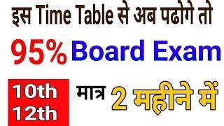 2 महीने में Board परीक्षा 2019 की तैयारी कैसे करे/How to score 90 in Board Exam in 2 months10th-12th