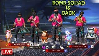 BOMB AIRDROP SQUAD IS HERE || RANK PUSH TO HEROIC RUSH GAMEPLAY GARENA FREE FIRE