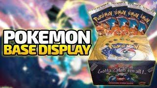 Pokemon Base Set Display (Glurak Booster) - Pokemon Trading Card Game - Deutsch German - Dhalucard