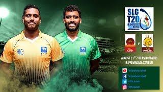 SLC T20 League 2018 - Match 2: Team Kandy vs Team Dambulla