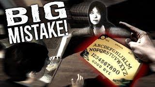 Making a BIG MISTAKE Using a Ouija Board... Summoning an REAL GHOST! (Ouija Board Roleplay)
