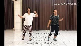 South Of The Border - Line Dance