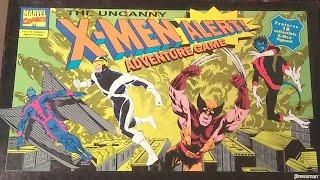 X-Men Alert Board Game LIVE PLAY