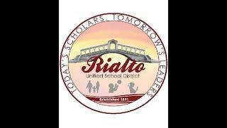Rialto USD LIVE Meeting of the Board of Education 6-13-2018
