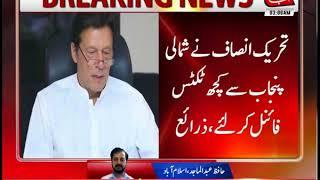 Imran Khan Chairs PTI Balochistan Parliamentary Board Meeting