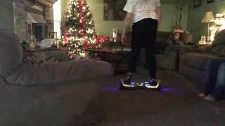 Me riding my hover board (Video from yesterday)