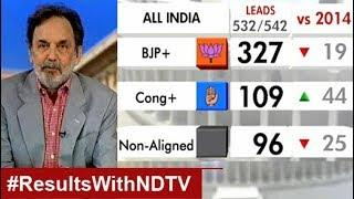 Election Results 2019 With Prannoy Roy: Total BJP Sweep, India Chooses Modi 2.0, Show Leads