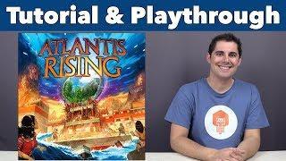 Atlantis Rising Tutorial & Playthrough - JonGetsGames