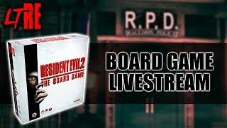 RESIDENT EVIL 2: THE BOARD GAME - HALLOWEEN LIVE STREAM