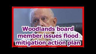 Today News - Woodlands board member issues flood mitigation action plan