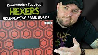 ????????HEXERS: Role-Playing Game Board - REVIEW (not sponsored)